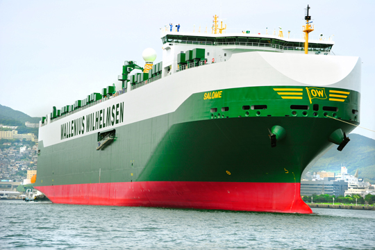 AG Machinery Worldwide delivers self propelled machines via RoRo shipping to your port of destination
