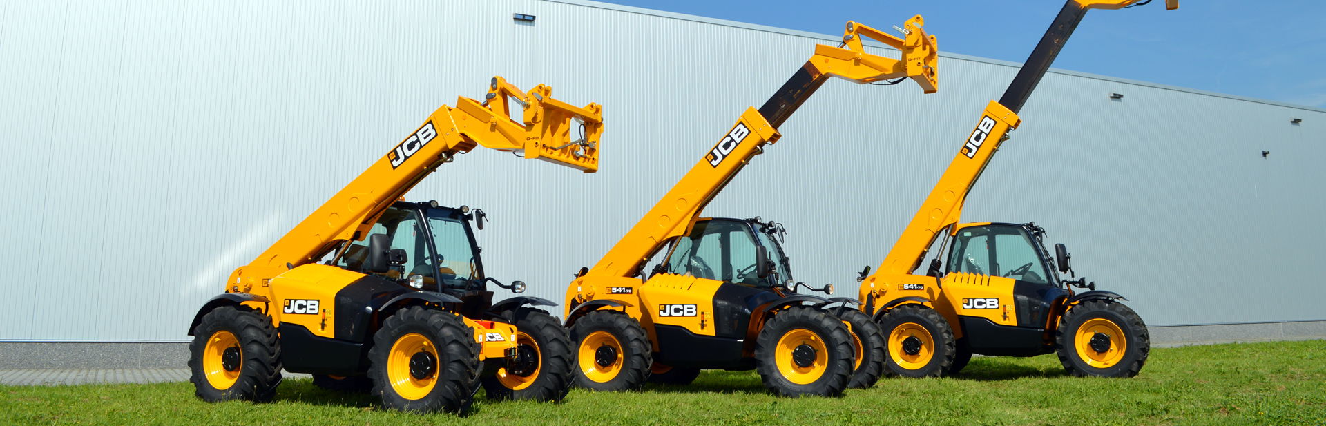 We are selling new and used agricultural equipment and compact construction machines worldwide