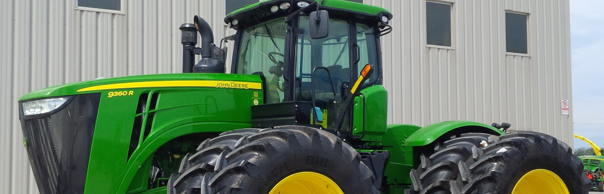 AG Machinery has a large number of stock machines
