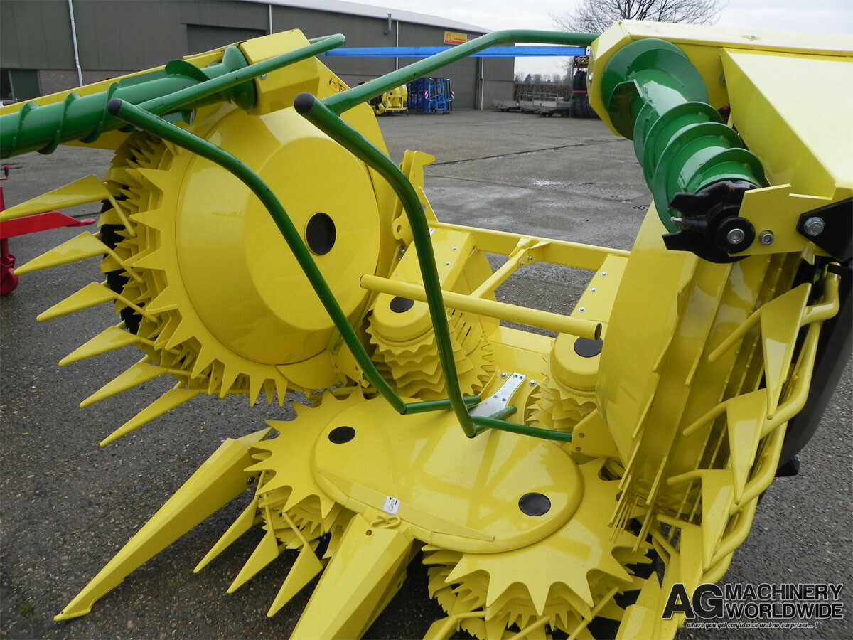NEW JD KEMPER 445 4500 676 6-ROW ROTARY FORAGE SILAGE HEADS