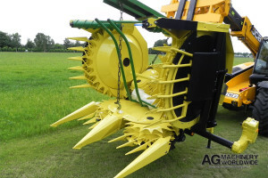 SMALL BIG LARGE DRUM ROTARY CROP HEADERS
