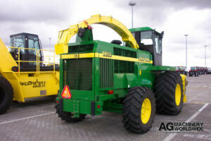 used john deere 6850 4wd spfh self propelled forage harvester ready for shipping