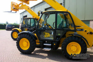 low hours jcb 541 70 agri loadall telehandler with pallet forks sold to united states