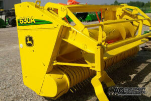 john deere 630a pickup hay head fully repaired overhauled reconditioned dealer serviced