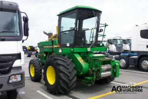 low hours john deere 5830 4wd forage harvester with kernel processor for export
