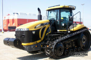import caterpillar challenger mt 845c tracked tractor for sale in europe