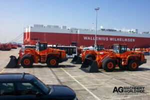 export worldwide doosan dl400 wheel loaders just arrived and ready for shipping