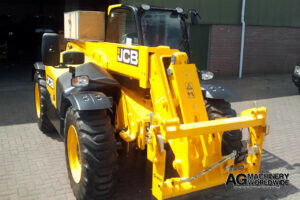 export delivery jcb telescopic handler telehandler ready for truck load and shipping