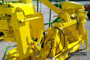fully repaired overhauled reconditioned 6 row small drum rotary forage silage header for sale