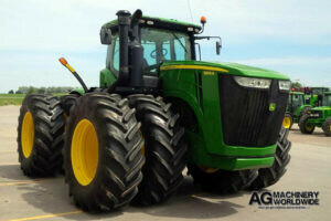low hours john deere 9360r 4wd tractor with duals and pto for sale canada or export usa