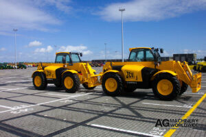 export delivery jcb loadall telehandlers for sale to united states