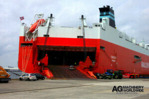 wallenius wilhelmsen global shipping for tractors machinery and heavy equipment