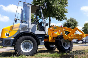 USED PAUS SL 755 ARTICULATED SWIVEL WHEEL LOADER