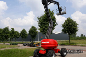 USED MANITOU 180 ATJ RC AERIAL WORK PLATFORM FOR SALE