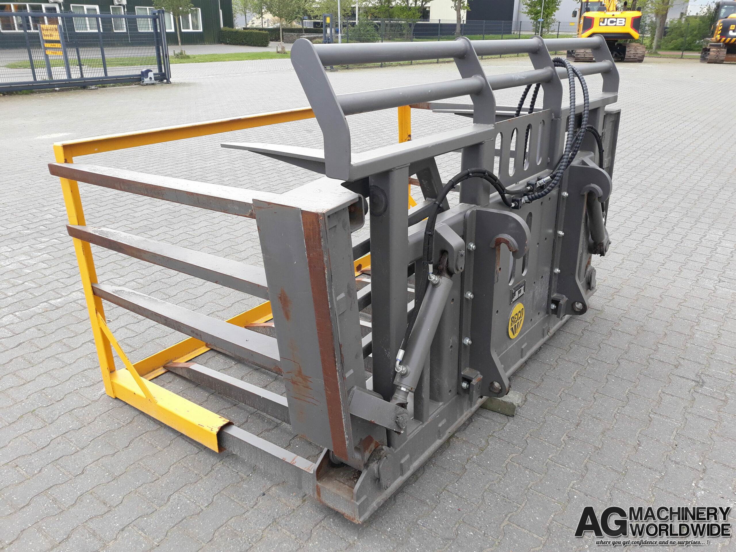 BECO GRASS SILAGE CROP FORKS FOR SALE EUROPE